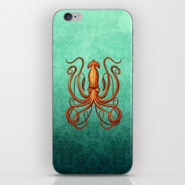 Giant Squid 2 iPhone Skin