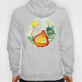 Howl's Moving Castle - Calcifer Hoody