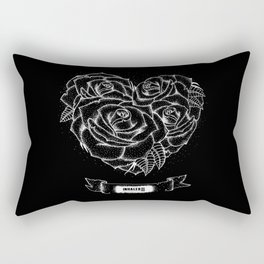 """""""Like roses, we blossom and die""""- BMTH Rectangular Pillow"""