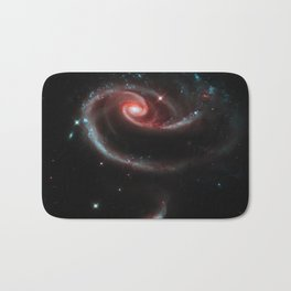 Rose of Galaxies Bath Mat