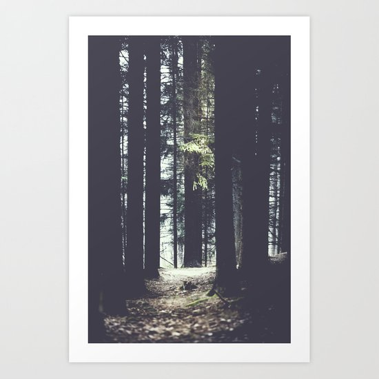 She will guide you Art Print
