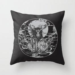 DREAMTIME - BLACK Throw Pillow