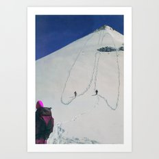 Hiking Art Print