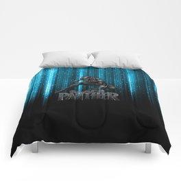 BP on blue Comforters