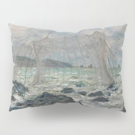 Fishing Nets at Pourville Pillow Sham