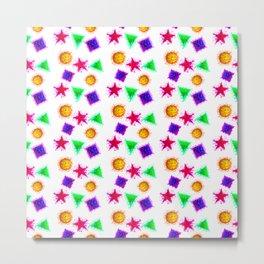 Splatter pattern Metal Print