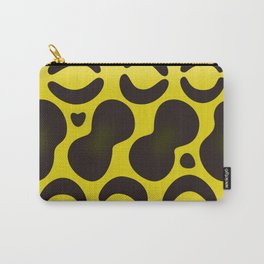 Yellow Anaconda Carry-All Pouch