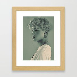 Elf Kai Framed Art Print