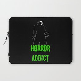 Horror Addict Laptop Sleeve