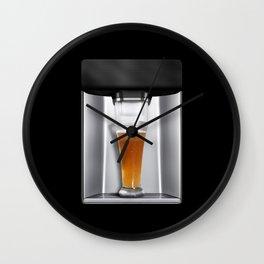 beer dispenser Wall Clock