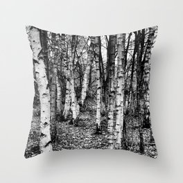 Staying on the Straight and Narrow Throw Pillow