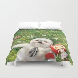 Our Times Duvet Cover