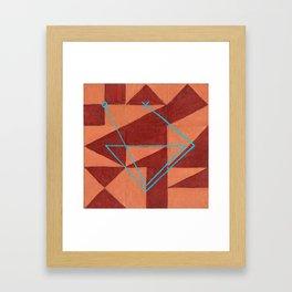 Magic Square #1 (Lo Shu) Framed Art Print