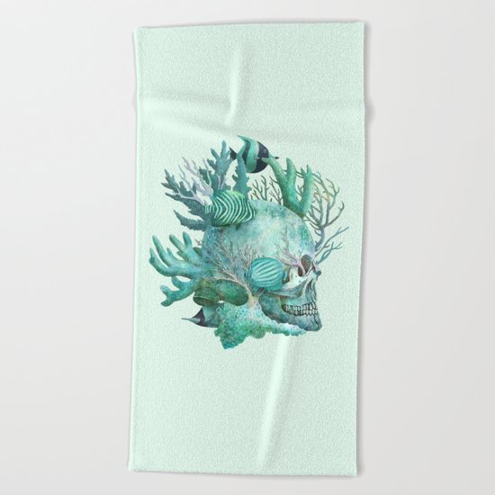 Full Fathom Five  Beach Towel
