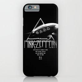Pink Zeppelin iPhone Case
