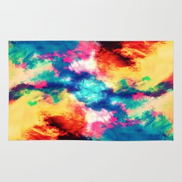 Painted Clouds V.1 MIRRORED Rug