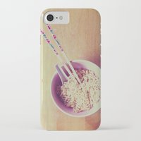 ramen iPhone & iPod Cases featuring Eating only top ramen by Loveandhorror