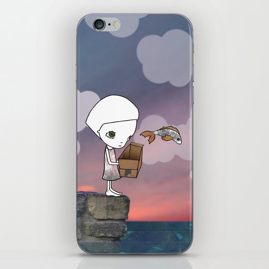 Gone Fishing (2) iPhone & iPod Skin