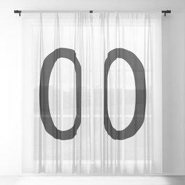 0 - Zero Sheer Curtain