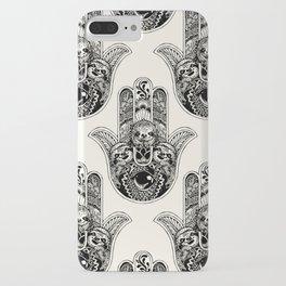Hamsa Hand Sloth iPhone Case