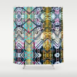 Obey hub vision upfront. Shower Curtain