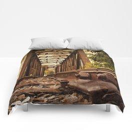 Railroad Bridge Comforters