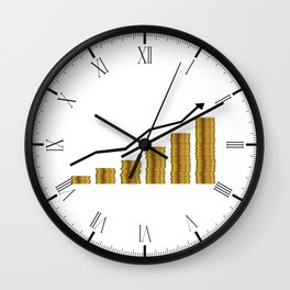 Rising Prices Wall Clock