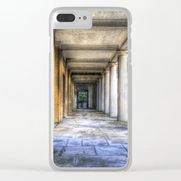 Kensal Green Cemetery  Colonnade Clear iPhone Case