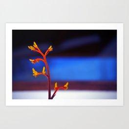 The magic plant Art Print