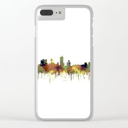 Fort Worth, Texas Skyline SG - Safari Buff Clear iPhone Case