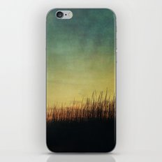 Floating in a Turquoise Sea iPhone & iPod Skin