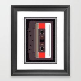 Compact Cassette Framed Art Print