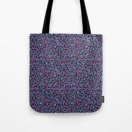Ultra Violet Leopard Signature Andreiaqua Tote Bag