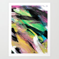 Abstract Artwork Colourful #1 Art Print