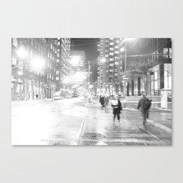 DT Streets Canvas Print