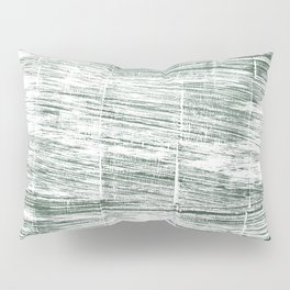 Dolphin Gray abstract watercolor Pillow Sham