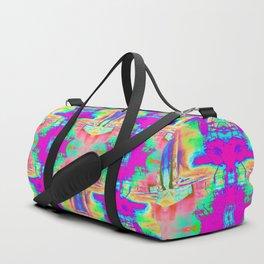 Technicolor Jacket Duffle Bag