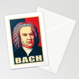Johann Sebastian Bach Pop Art Stationery Cards