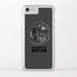 TØP and Little May Clear iPhone Case