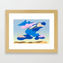 Passion Air Framed Art Print