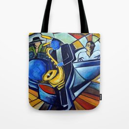 The Jam Session Tote Bag