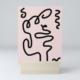 the Jazz Singer Mini Art Print