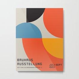 Vintage poster-Bauhaus Ausstellung 1923. Metal Print