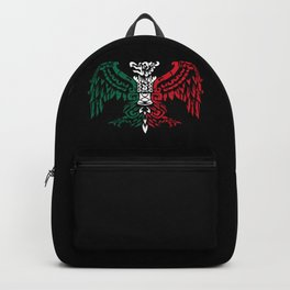 Aztec Eagle Warrior - Aztec Eagle Knight - Mexican Roots Backpack
