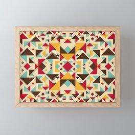 Tribal pattern Framed Mini Art Print