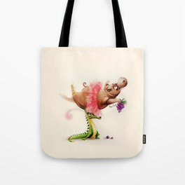 Dance of the Hours Tote Bag