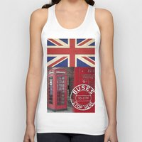 british Tank Tops featuring Very British by LebensART