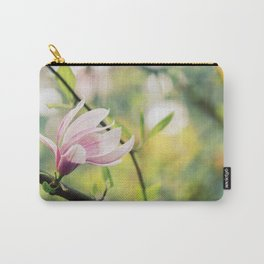 Magnolia Flower - Spring Flower Carry-All Pouch