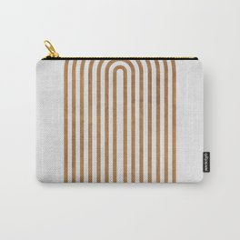 Perfect Equilibrium - Geometric Minimal - White 1 Carry-All Pouch