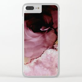 Transcending in Rose Clear iPhone Case